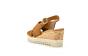 sandaal met sleehak 62.831.32-32 camel (