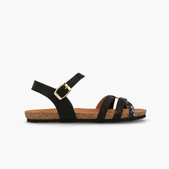 sandaal zwart w100119