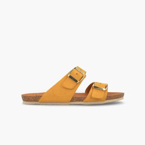 slipper w100166 geel