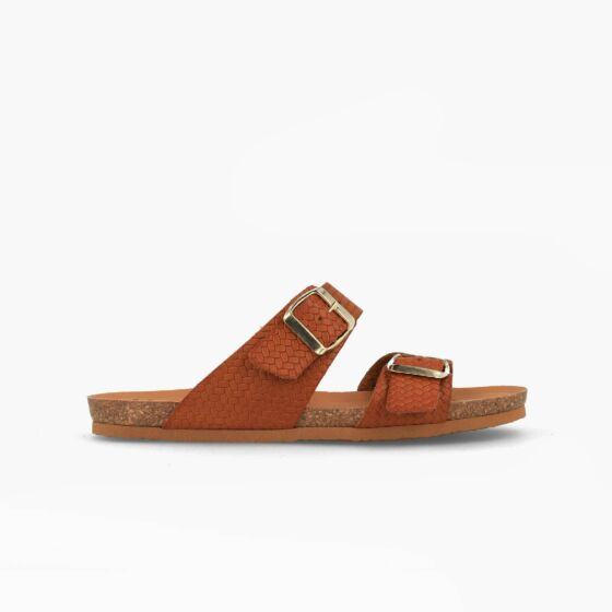 slipper w100170 cognac