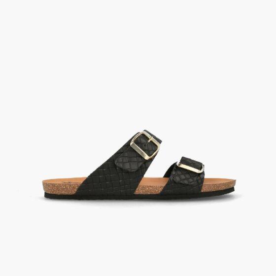 slipper w100171 zwart